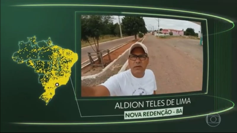 Redençoense participa do quadro Brasil que eu quero da TV Globo