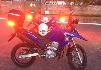 29ª CIPM SEABRA recebe motocicletas para reforçar o policiamento